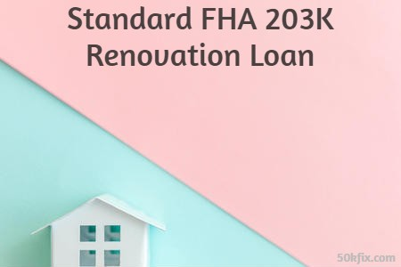 FHA 203K Standard Loan Limits