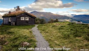 USDA Loans For First Time Home BuyerA
