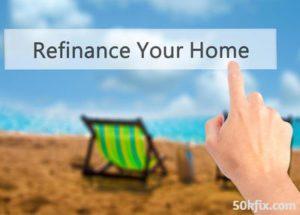 refinance your home finger