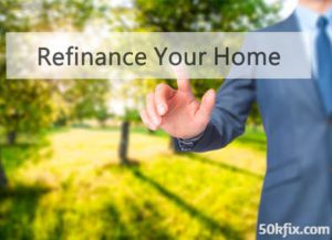 man refinance your home