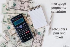 mortgage payments calculator