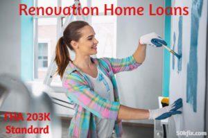 renovation home loans fha 203k