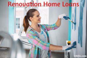 renovation home loans paint work