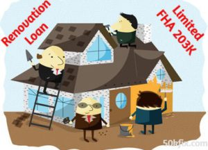 renovation loan limited fha 203k