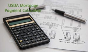 usda mortgage payments calculator